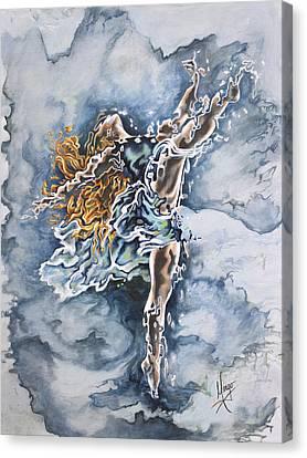 Believe Canvas Print by Karina Llergo