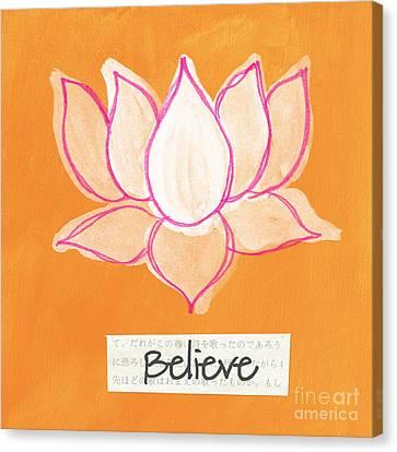 Believe Canvas Print by Linda Woods