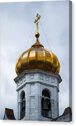 Bell Tower - Featured 2 Canvas Print by Alexander Senin
