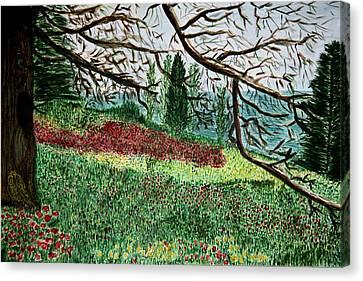 Bella Vista. Canvas Print by Shlomo Zangilevitch