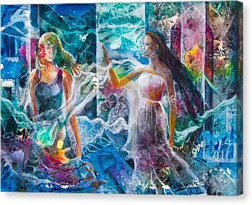 Belladonnas Canvas Print by Patricia Allingham Carlson