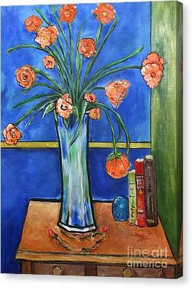 Bellini Canvas Print by Chaline Ouellet