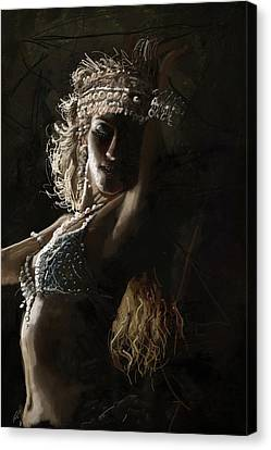 Belly Dancer 8  Canvas Print by Corporate Art Task Force
