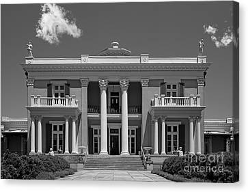 Belmont University Belmont Mansion Canvas Print by University Icons