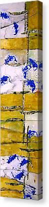 Ben And Jewel Panel 3 Canvas Print by Sandra Gail Teichmann-Hillesheim