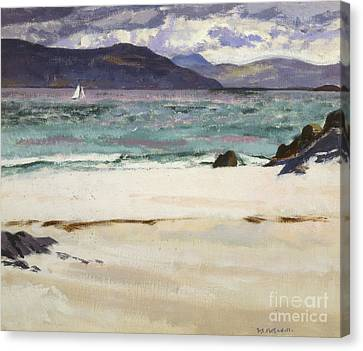 Ben Bhuie From The North End   Iona Canvas Print by Francis Campbell Boileau Cadell