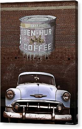 Ben Hur Coffee Canvas Print by Larry Butterworth