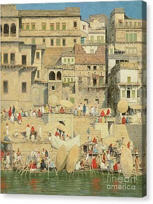 Benares Canvas Print by Mortimer Ludington Menpes