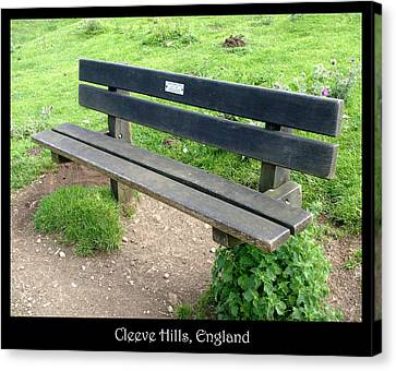 Countryside Canvas Print featuring the photograph Bench 16 by Roberto Alamino