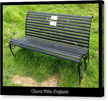 Countryside Canvas Print featuring the photograph Bench #17 by Roberto Alamino