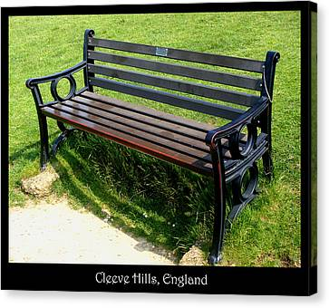Countryside Canvas Print featuring the photograph Bench #18 by Roberto Alamino
