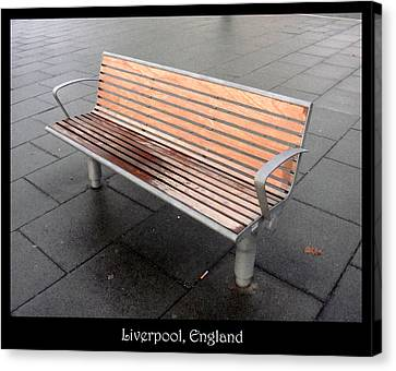 Bench #23 Canvas Print by Roberto Alamino