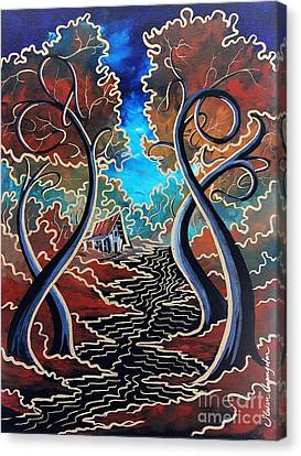 Bending Time Canvas Print by Steven Lebron Langston