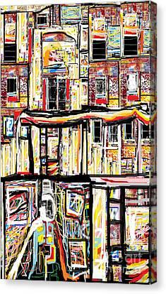 Beneath The Basement Canvas Print by Ruth Clotworthy