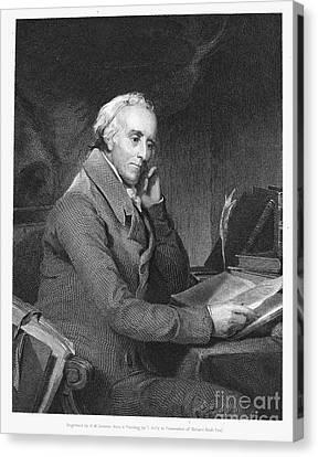 Benjamin Rush (1745?-1813) Canvas Print by Granger