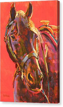 Benny Canvas Print by Mary McInnis