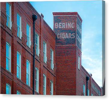 Bering Cigars Canvas Print by Ybor Photography
