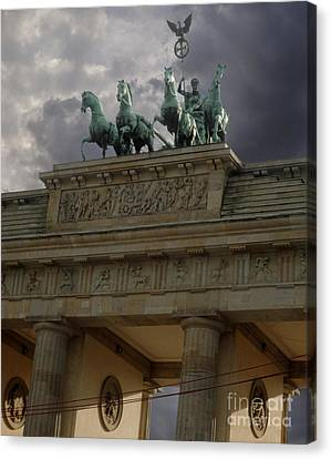 Berlin - Brandenburg Gate Canvas Print by Gregory Dyer
