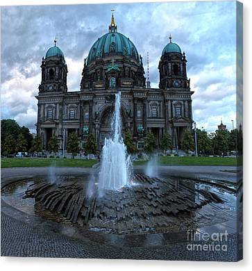 Berlin - Cathedral Canvas Print by Gregory Dyer