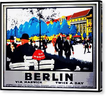 Berlin 1925 Canvas Print by Unknown