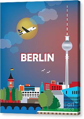 Berlin Canvas Print by Karen Young