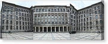 Berlin - Ss Headquarters Canvas Print by Gregory Dyer
