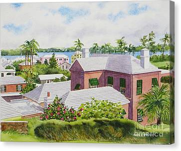 Bermuda Light Canvas Print by Karol Wyckoff