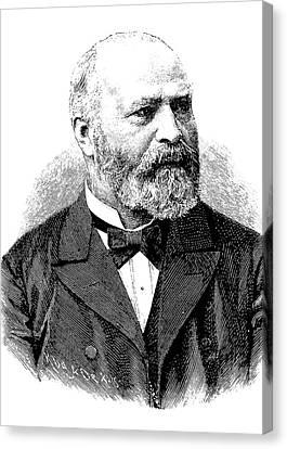 Bernhard Von Gudden Canvas Print by Bildagentur-online/tschanz