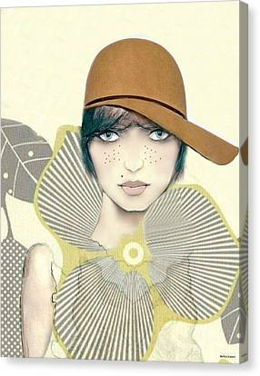 Bess Canvas Print by Barbie Guitard
