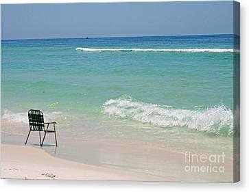 Best Seat  Canvas Print by Karen Adams