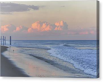 Better Days Ahead Seaside Heights Nj Canvas Print by Terry DeLuco