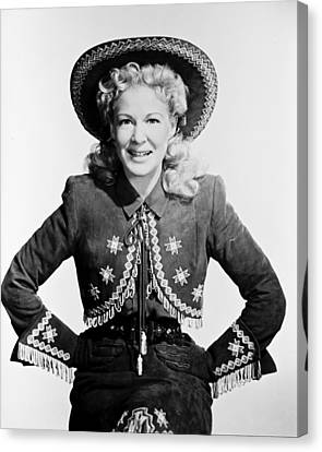 Betty Hutton Canvas Print by Silver Screen