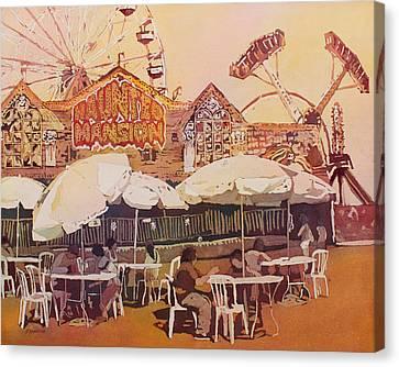 Between Amusements Canvas Print by Jenny Armitage