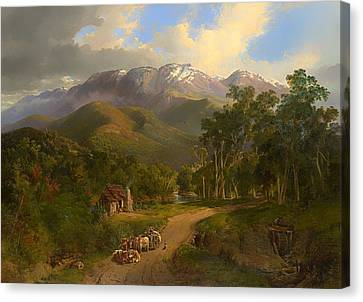 The Buffalo Ranges Canvas Print by Mountain Dreams