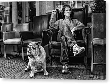 Beware Of Owner ! Canvas Print by Rudi Harlim