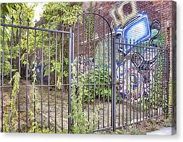 Beyond The Gate Canvas Print by Jason Politte