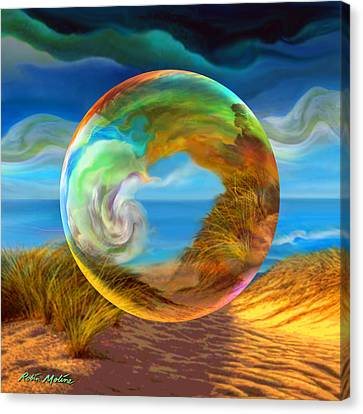 Beyond The Sea  Canvas Print by Robin Moline