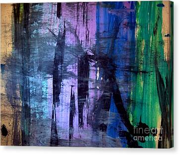 Beyond Canvas Print by Trilby Cole
