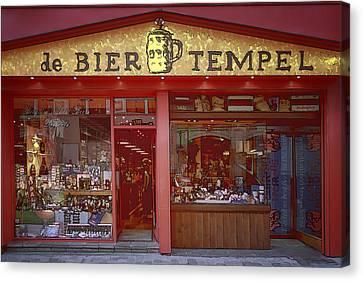 Bier Tempel Canvas Print by Joan Carroll