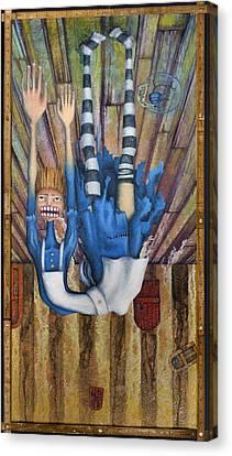 Big Alice Little Door Canvas Print by Kelly Jade King