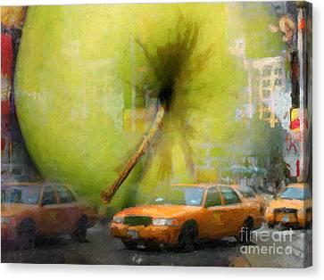 Big Apple Canvas Print by Lutz Baar