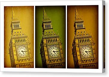 Big Ben Triptych 2 Canvas Print by Stephen Stookey