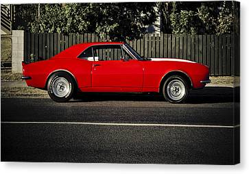 Big Block Camaro Canvas Print by motography aka Phil Clark