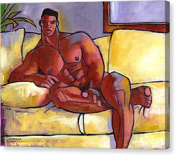 Big Brown Canvas Print by Douglas Simonson