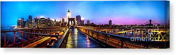 Big City Blues Canvas Print by Az Jackson