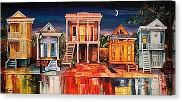 Big Easy Night Canvas Print by Diane Millsap