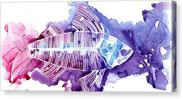 Big Fish Canvas Print by Mike Lawrence
