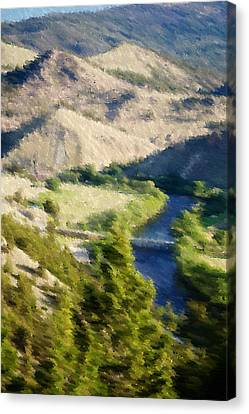 Big Hole River Divide Mt Canvas Print by Kevin Bone