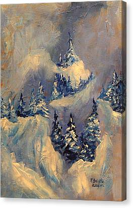 Big Horn Peak Canvas Print by Patricia Brintle