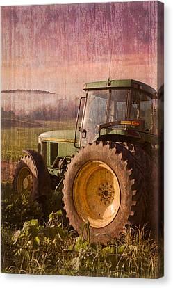 Big John Canvas Print by Debra and Dave Vanderlaan